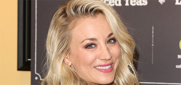 Kaley Cuoco urges people to adopt pit bulls: 'I'm obsessed with this kind of dog'