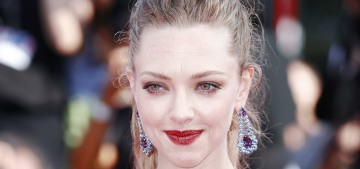 Amanda Seyfried in McQueen & Chopard in Venice: stunning or unflattering?