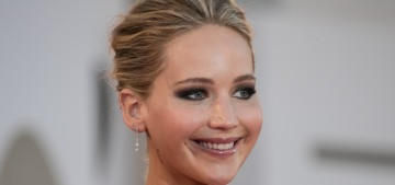 Jennifer Lawrence in Dior at the Venice 'mother!' premiere: princess-fug or fine?