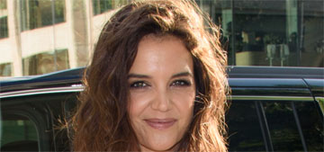 Katie Holmes and Jamie Foxx photographed holding hands on the beach on Labor Day