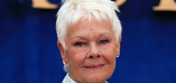 Judi Dench 'still feels desire' at the age of 82, says older folks should 'never give up'