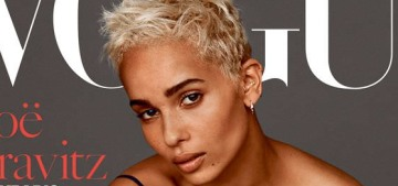 Zoe Kravitz, 28, feels 'a little removed' from her own Millennial generation