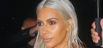 Kim Kardashian debuted new silver-blonde hair at NYFW: love it or hate it?