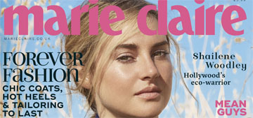 Shailene Woodley on her arrest at Standing Rock: they stripped searched me