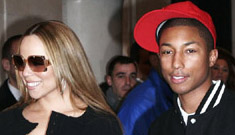 Mariah Carey is getting cosy with Pharrell Williams