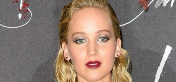 Jennifer Lawrence in Dior at the Paris 'mother!' premiere: lovely or bland?