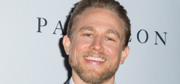 Charlie Hunnam's idea of romance is talking endlessly about cleaning his house