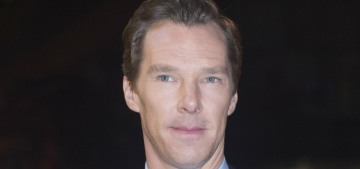 Benedict Cumberbatch did his TIFF premiere without his loyal & faithful wife