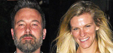Ben Affleck & Lindsay Shookus's weekend in NY:  IT, US Open and date night