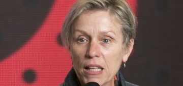 Is Frances McDormand a shoo-in for a Best Actress Oscar nomination this year?