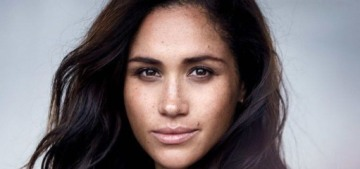 Meghan Markle used the same makeup artist as Princess Diana for VF shoot