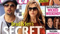 Star: Limo driver talks, Brad Pitt & Jennifer Aniston's secret hotel visits