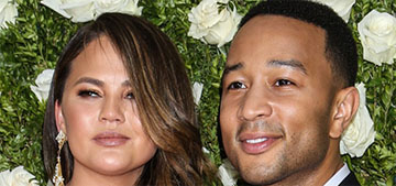 ITW: Chrissy Teigen & John Legend are in marriage counseling, 'fighting nonstop'