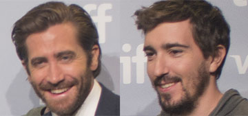 Jake Gyllenhaal walks the red carpet with Boston Marathon survivor Jeff Bauman