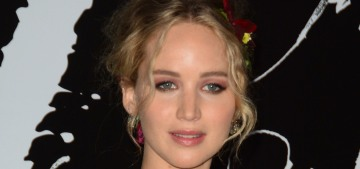 Jennifer Lawrence in Dior at NYC 'mother!' premiere: exhausting princess mess?