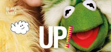 Kermit & Miss Piggy posed with Blake Lively for Love Mag: amazing?