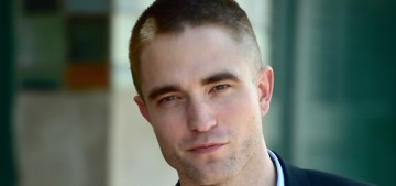 Robert Pattinson has a dream of abandoning his life & living in a van
