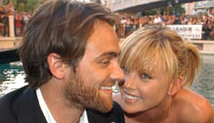 Charlize Theron and Stuart Townsend have split