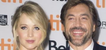 Javier Bardem: Jennifer Lawrence talks about the Kardashians like they're 'Einstein'