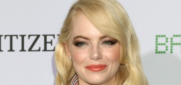 Emma Stone in Louis Vuitton at the 'Battle' premiere: cute or unflattering?