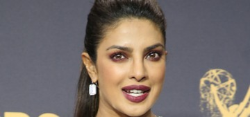 Priyanka Chopra in quilted Balmain: one of the worst looks of the Emmys?