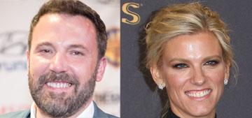 Ben Affleck & Lindsay Shookus went to the Emmys, didn't walk the carpet
