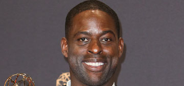 Sterling K. Brown's Emmy speech was cut off before he could thank his wife