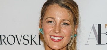 Blake Lively's latest 'woman in peril' film actually looks sort of good/interesting?