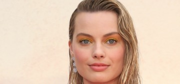 Margot Robbie in Brock Collection at the 'Christopher Robin' premiere: twee or cute?
