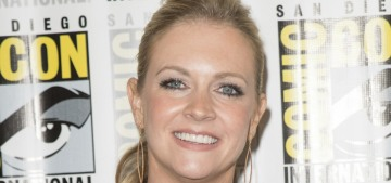 Melissa Joan Hart lamented her canceled vacation because of Hurricane Maria