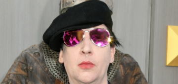 Marilyn Manson reads Bieber's apology texts: 'it stung… I'm sorry'