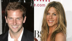 Jennifer Aniston has a new tabloid boyfriend and he's named Brad