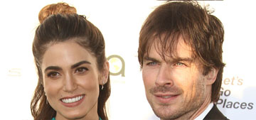 Ian Somerhalder & Nikki Reed apologize to women 'affected by reproduction coercion'
