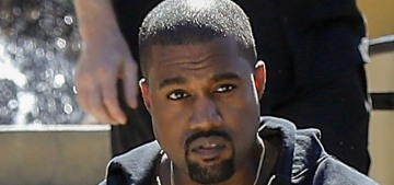 For the love of God, stop saying that Kanye West is 'fat' or 'thick' these days