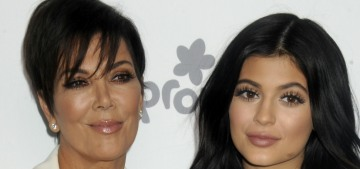 Kris Jenner's main focus for Kylie is the cosmetics company, and all that money