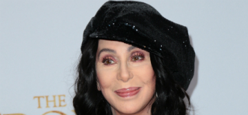 Cher does 3-5 minutes of planks a day, loves that 'Cher Hair' is in style