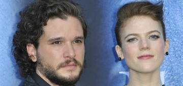 Kit Harington & Rose Leslie are officially engaged after five years together