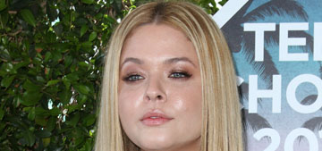 Sasha Pieterse of PLL on 70 lb weight gain: 'It was hurtful how people reacted'
