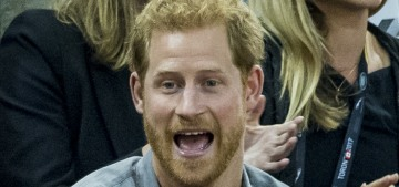 Prince Harry spent time with a much younger woman at the Invictus Games