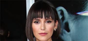 Nina Dobrev got the Pulp Fiction haircut: cute or too severe?