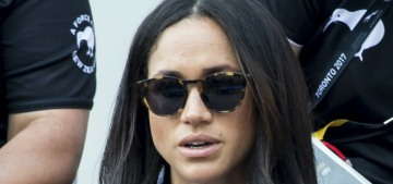Meghan Markle is getting a bigger security detail & Harry's not paying for it