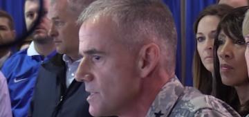 """Lt. Gen. Jay Silveria is a better leader than Donald Trump"" links"