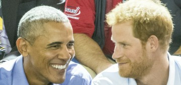 When Harry Met Barry: Prince Harry & Pres. Obama chilled out in Toronto