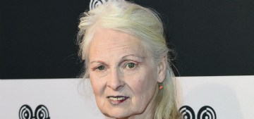 Vivienne Westwood's husband says her beauty secret is bathing once a week