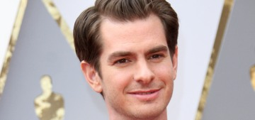 Andrew Garfield: Trump happened because we 'idolize' celebrities as a society