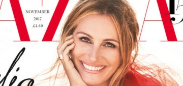 Julia Roberts on her youth: 'I was my priority, a selfish little brat' making movies