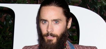 Ugh, no: Jared Leto will play Hugh Hefner in a bio-pic directed by Brett Ratner