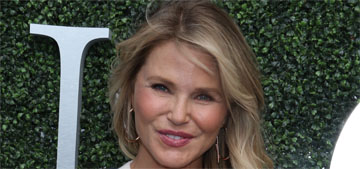 Christie Brinkley changes her story about what she does to her face, but that changes too