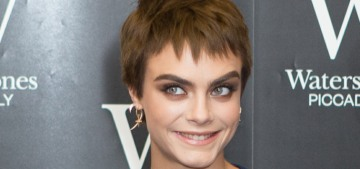 Cara Delevingne debuts new 'chocolate pixie' hair: love it or hate it?