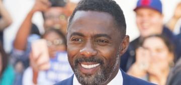 Idris Elba: 'It was a bit awkward' at the 2016 Met Gala between Kimye & Swifty